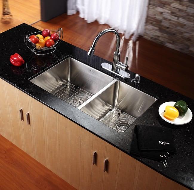 Stainless Steel Kitchen Sink  Inch Cabinet