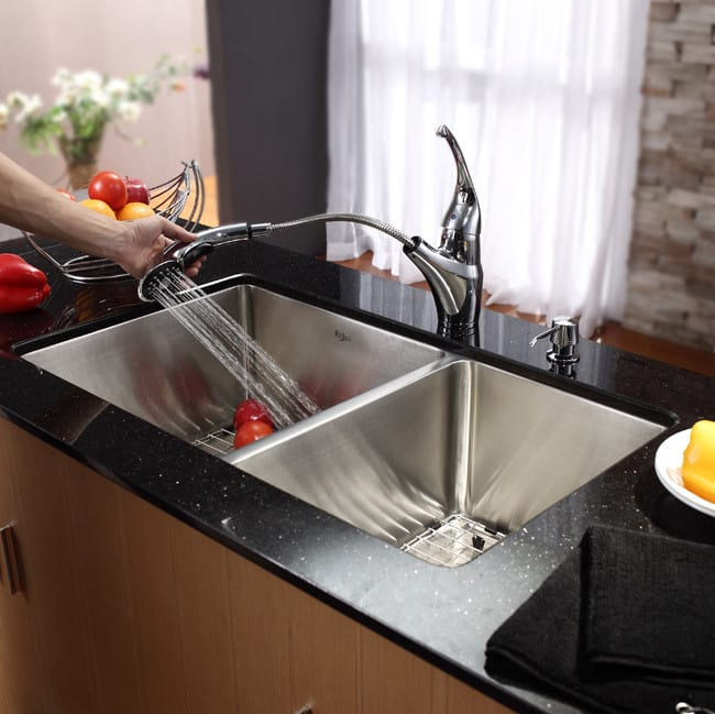 Kraus Kitchen Sink Series Khu10333 Lifestyle View