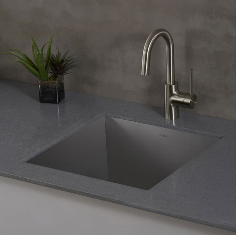 Exceptional ... Kraus Pax Series KHU19   The KPF2600 Faucet Looks Great With The Pax  Zero Radius Sink