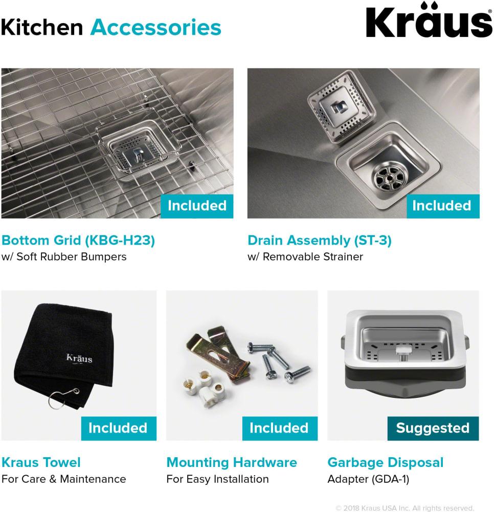Kraus Pax Series Khu23 Items Included