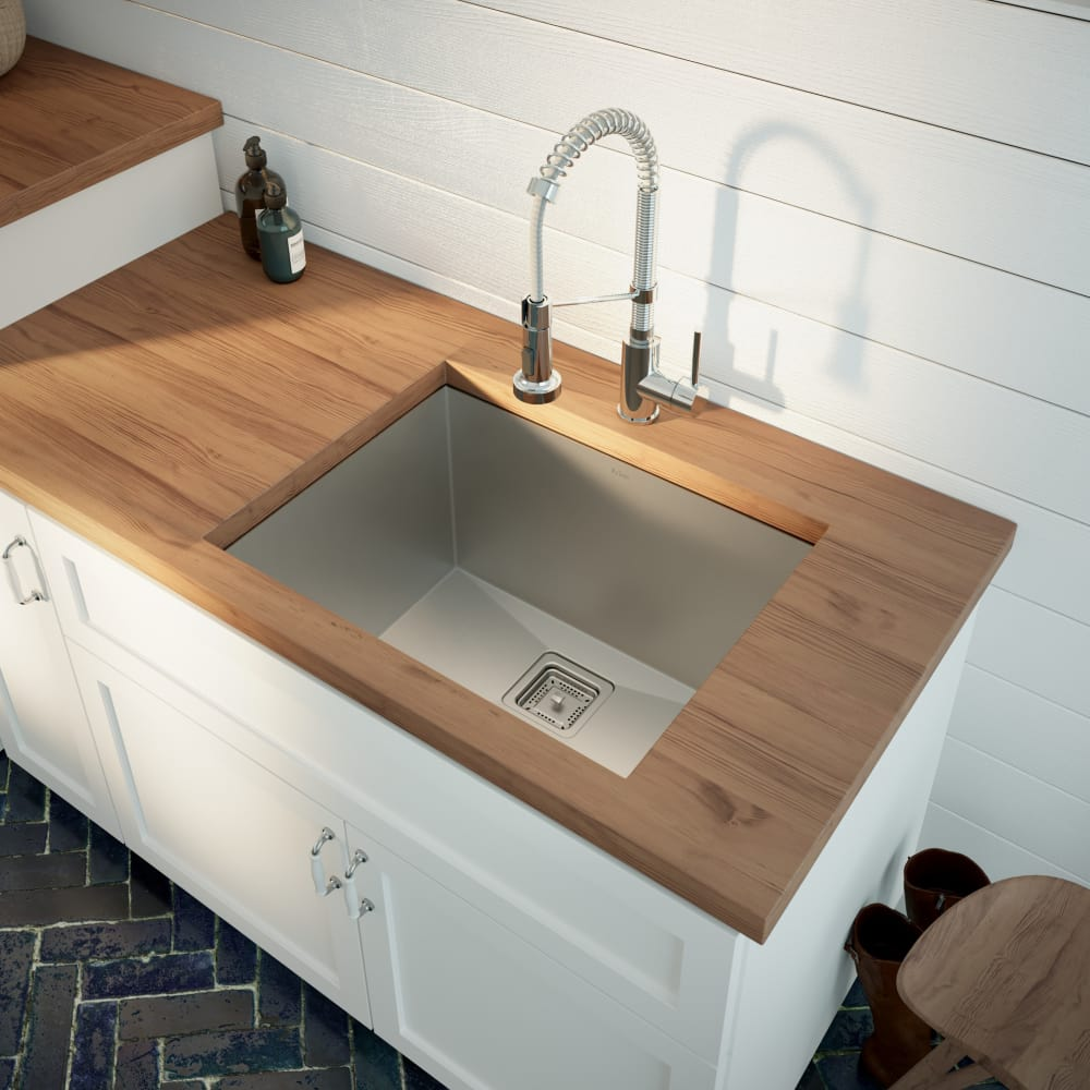 Utility Sink.Kraus Pax Series Khu24l