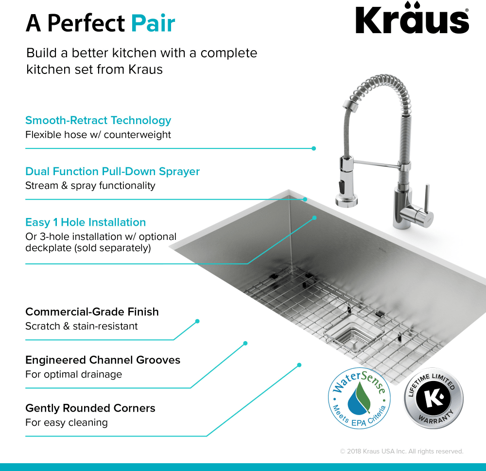 Kraus Pax Series KHU32161053CH