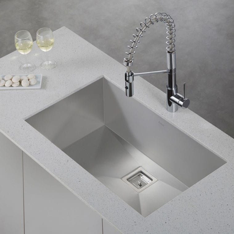 Kraus Pax Series KHU32   The Mateo KPF2630 Faucet Is A Great Addition To  This Sink ...