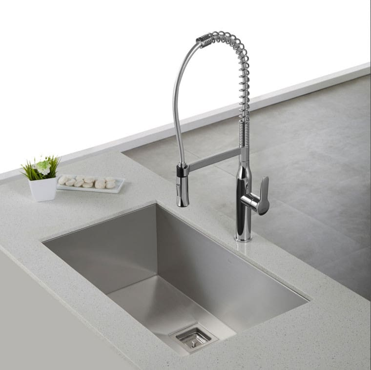 ... Sink Kraus Pax Series KHU32   The Nola KPF1660 Faucet Looks Both  Elegant And Professinal With The ...