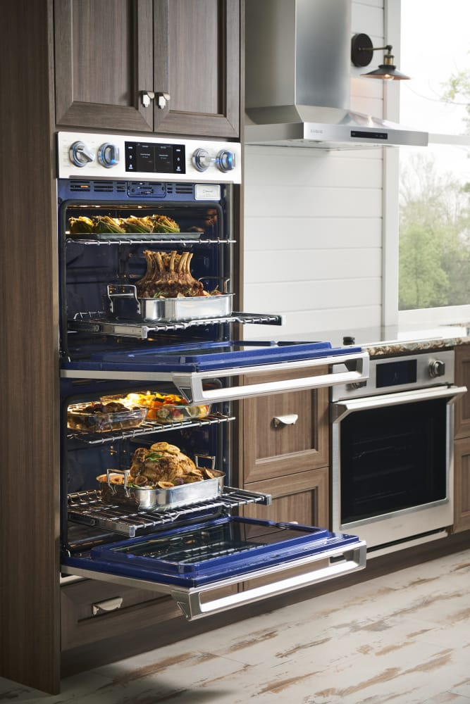 Samsung Nv51k6650ss 30 Inch Wall Oven With 5 1 Cu Ft