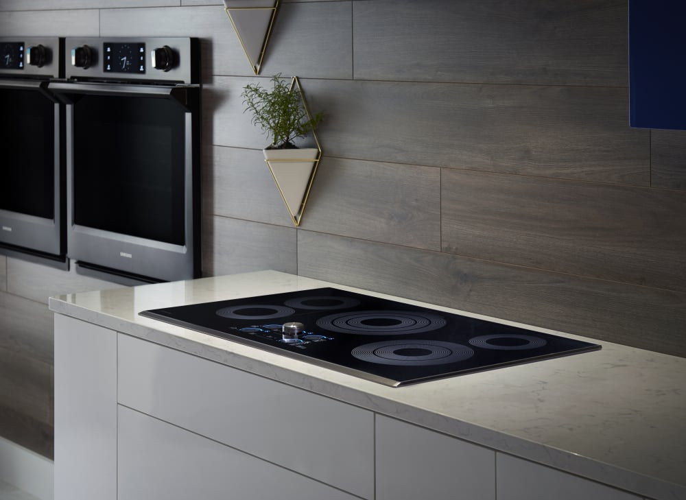 Top Ranked Electric Cooktops ~ Samsung nz k rg inch electric cooktop with