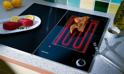 Miele Km408 11 3 8 Inch Combiset Electric Contact Griddle