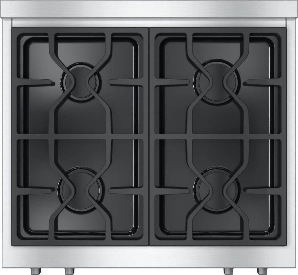 miele kmr1124g 30 inch pro style gas rangetop with 4. Black Bedroom Furniture Sets. Home Design Ideas