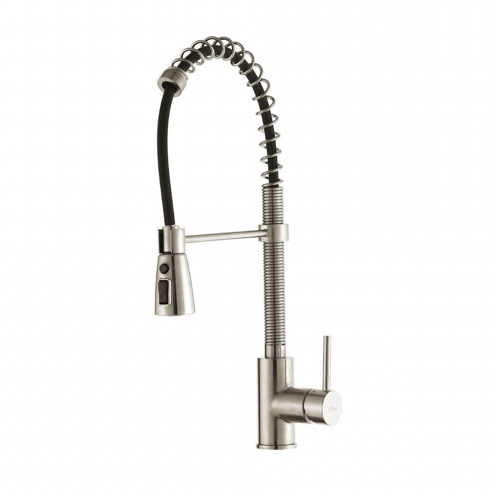 style lever flex commercial nola chrome kraus com single kitchen installed faucet kpf