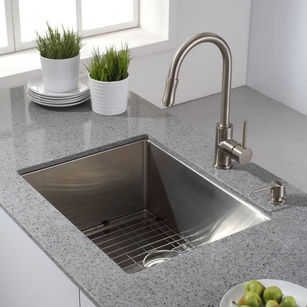 Kraus Satin Nickel Kitchen Faucet