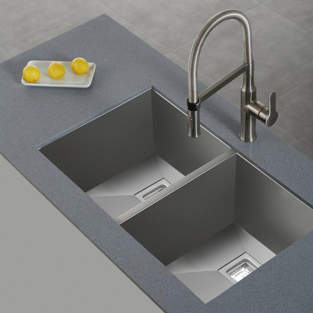 Kraus KPF1640SS Single Handle Flex Commercial Style Kitchen Faucet ...