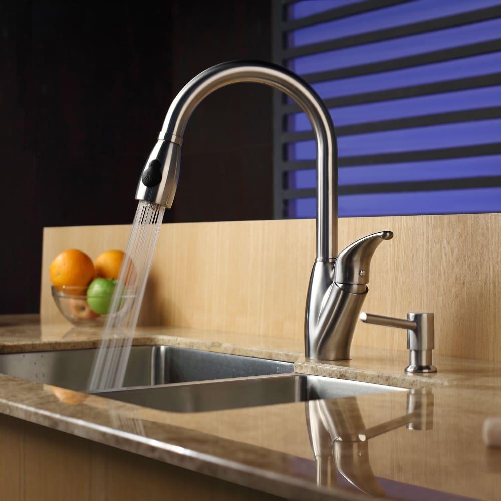 Riedel Gooseneck Kitchen Faucet