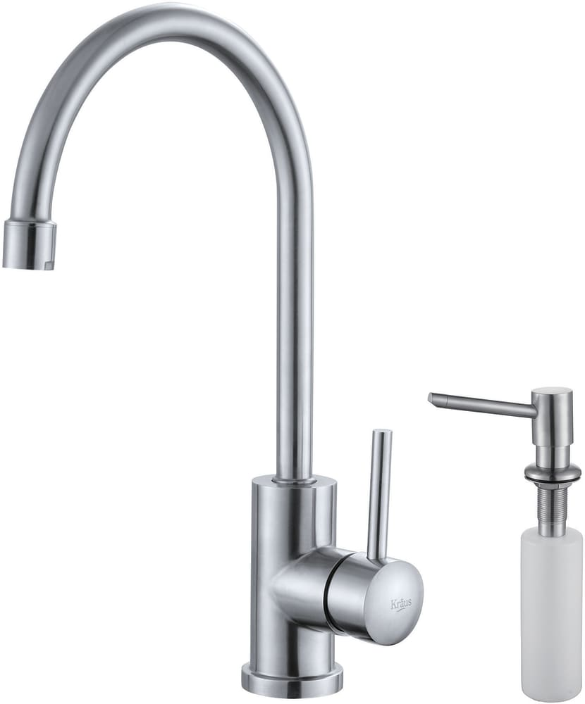 com stainless single main discontinued pull kpf faucet kitchen kraususa out lever steel