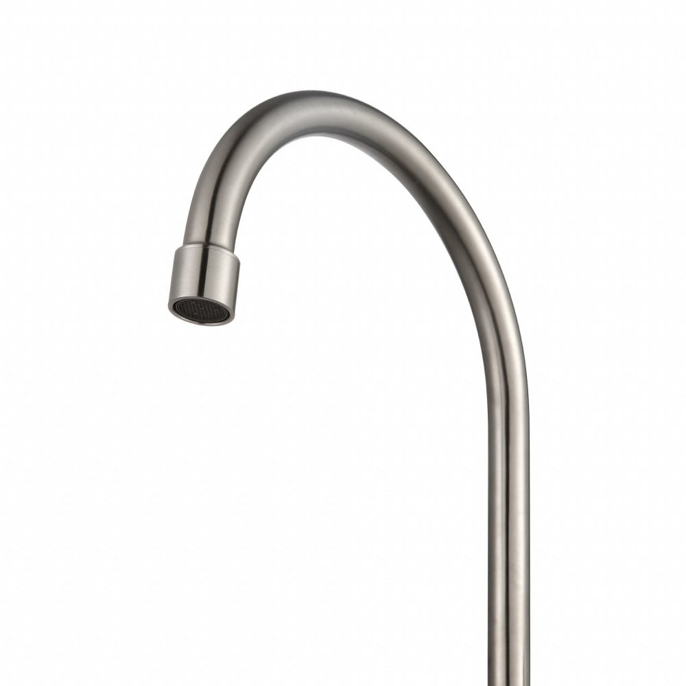 Kraus KPF2160 Single Handle Solid Stainless Steel Kitchen Bar Faucet ...