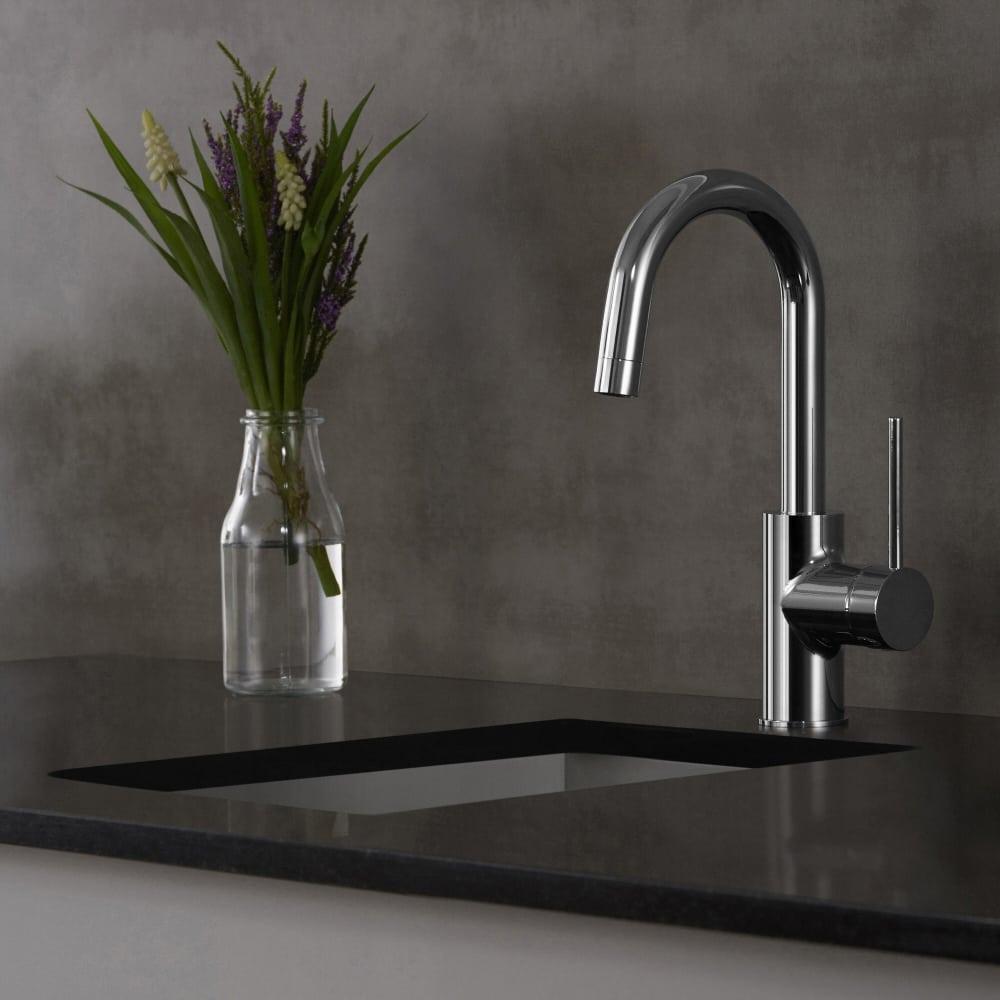 Kraus Kpf2600sfs Single Handle Kitchen Bar Faucet With 5 1 2 Inch Spout