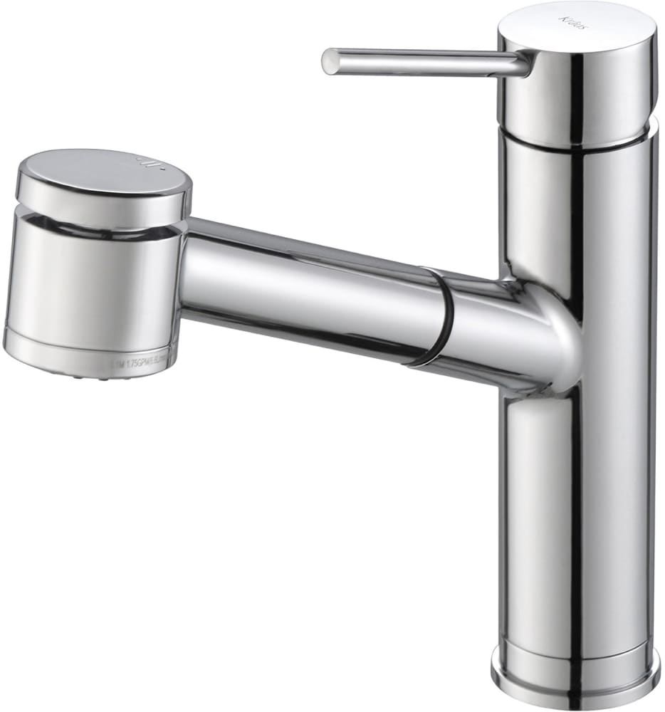 kraus kpf2610ch single handle pull out kitchen faucet with