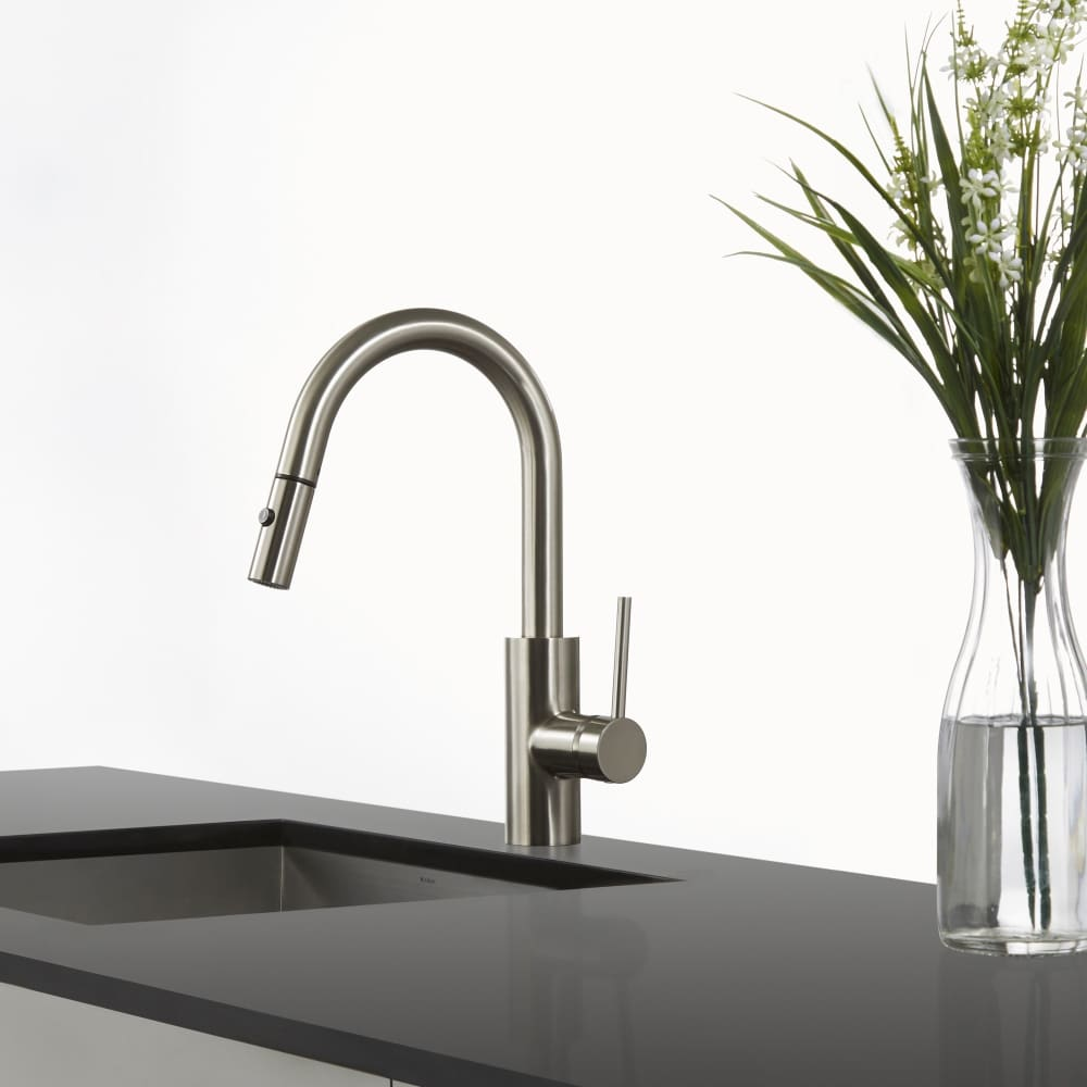 Kraus Kpf2620ss Single Lever Pull Down Kitchen Faucet With