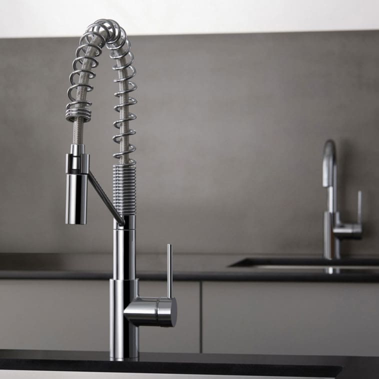Kraus KPF2630260041CH Single Handle Commercial-Style Pull-Down ...