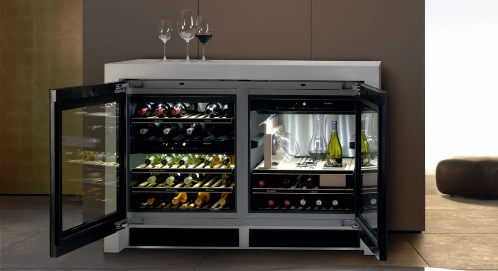 Best Wine Coolers >> Miele KWT6312UGS 24 Inch Built-in Undercounter Wine ...
