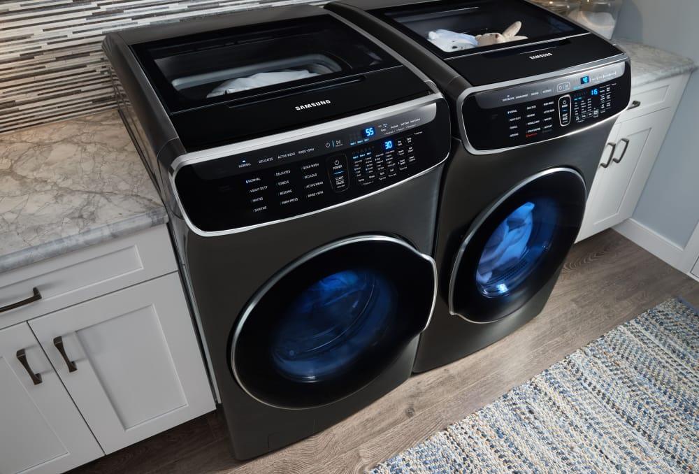 Samsung Wv60m9900av 27 Inch Flexwash Smart Washer With Wi