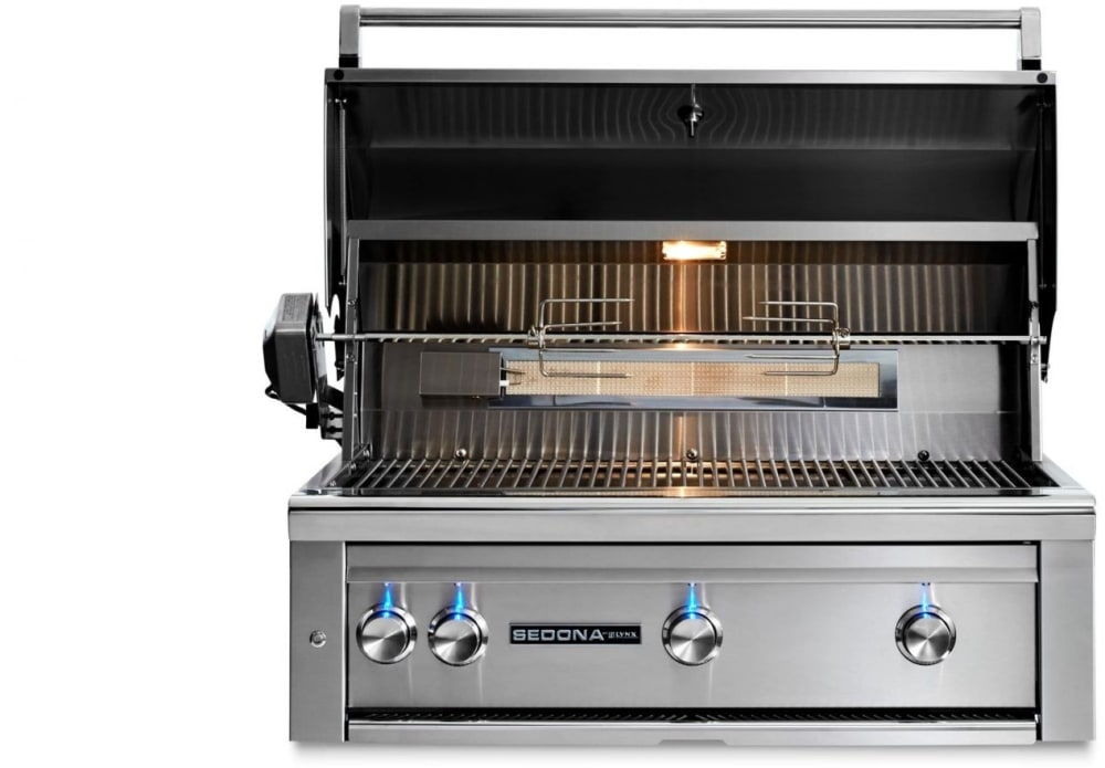 Lynx 36 Built In Grill: Lynx L600PSRNG 36 Inch Built-in Gas Grill With 891 Sq. In