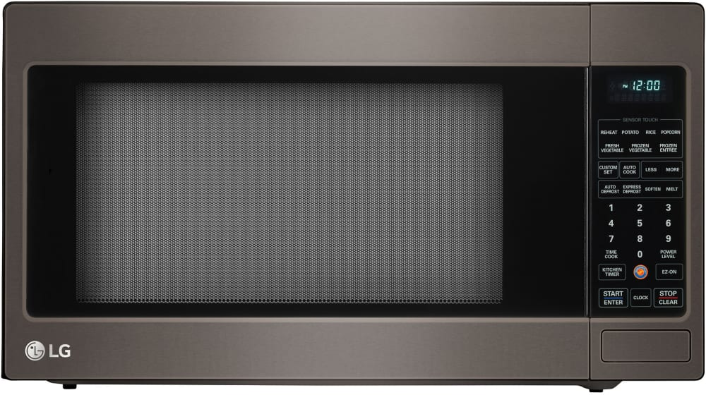 Lg Lcrt2010bd 2 0 Cu Ft Countertop Microwave Oven With 1 200 Cooking Watts