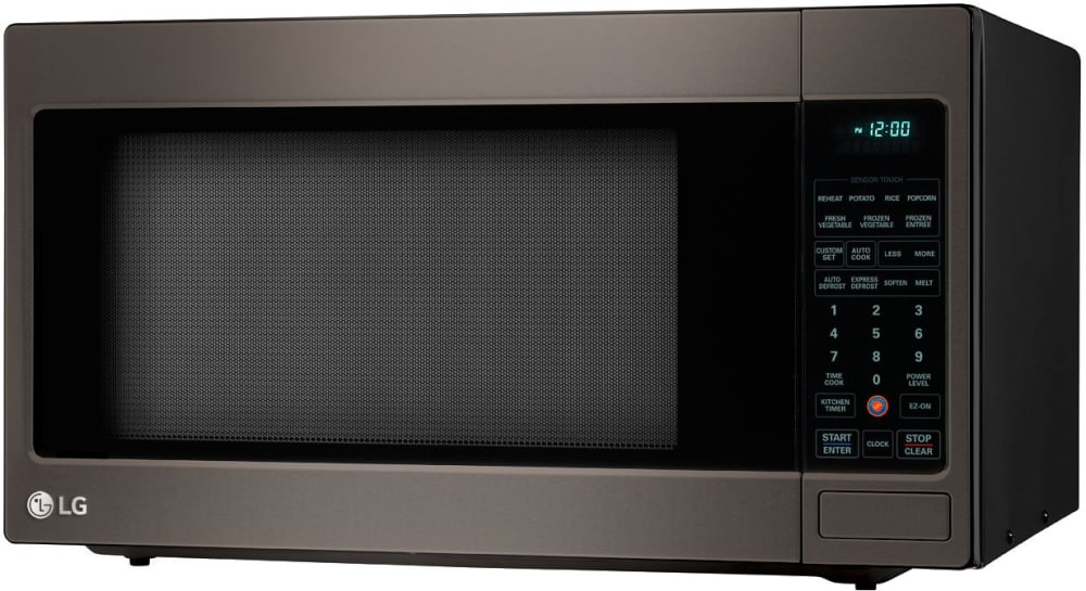 Countertop Microwave Oven With 1 200 Cooking Watts Lg Lcrt2010bd 2 0 Cu Ft Left
