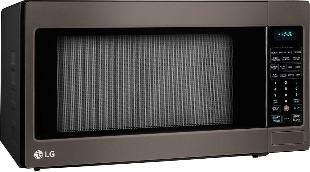 Lg Lcrt2010bd 2 0 Cu Ft Countertop Microwave Oven With 1 200 Cooking Watts Right