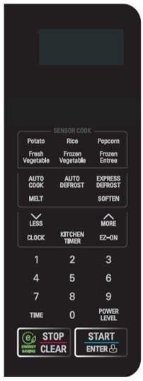 2 0 Cu Ft Countertop Microwave