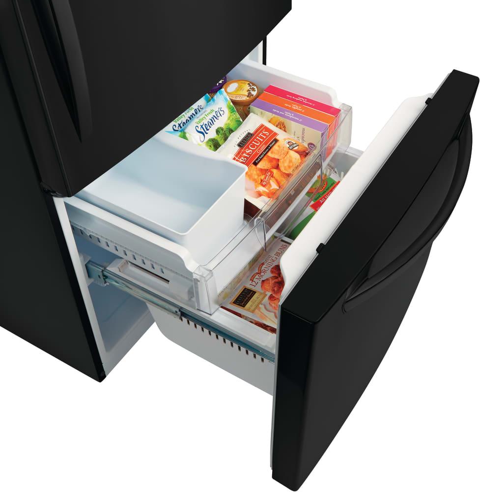 Lg Ldcs24223b 33 Inch Bottom Freezer Refrigerator With