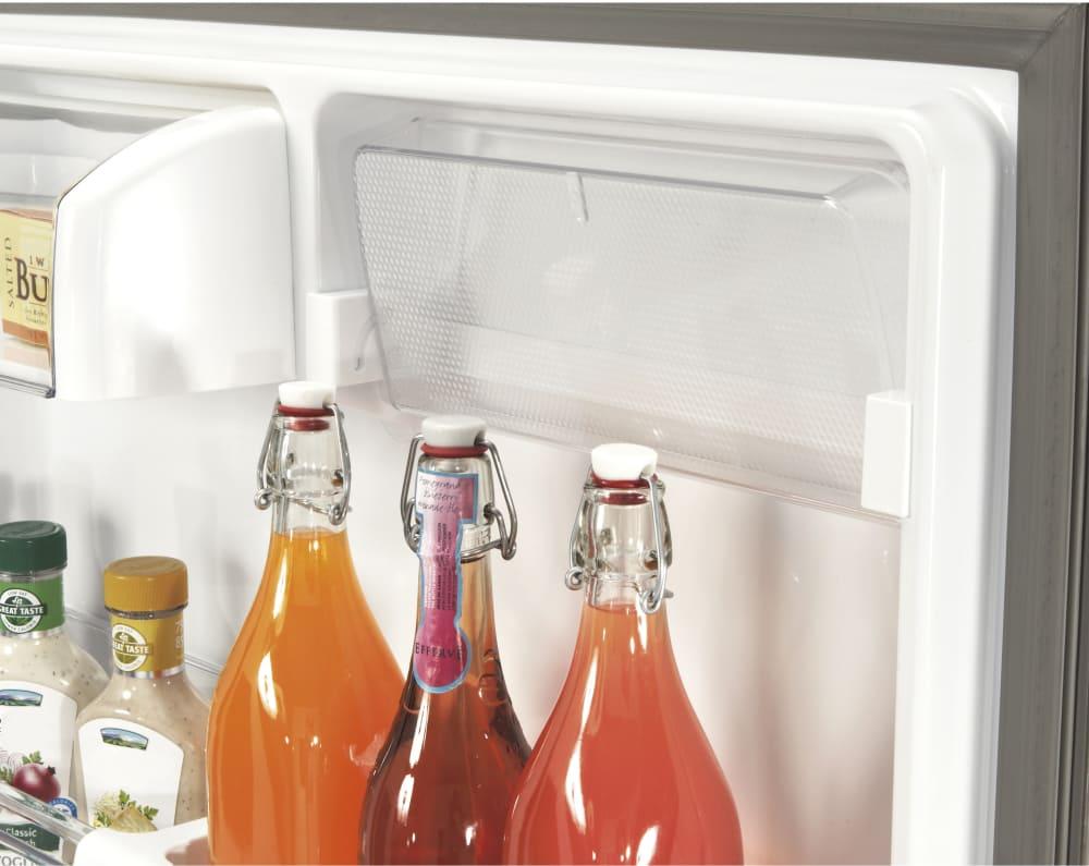 Lg Ldcs24223w 33 Inch Bottom Freezer Refrigerator With 24