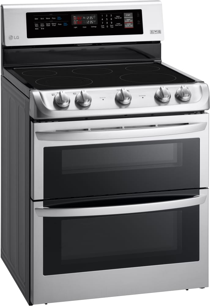Lg Lde4411st Freestanding Electric Range Double Oven From