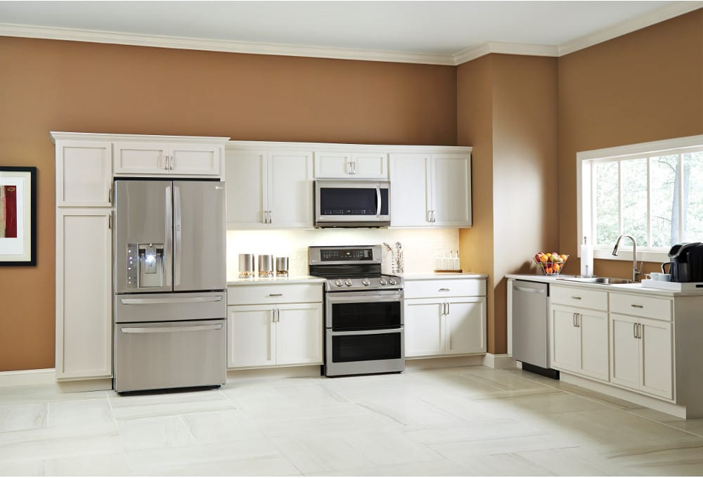 Lg Lde4413st The Electric Double Oven Range Adds Elegance To Any Home Kitchen