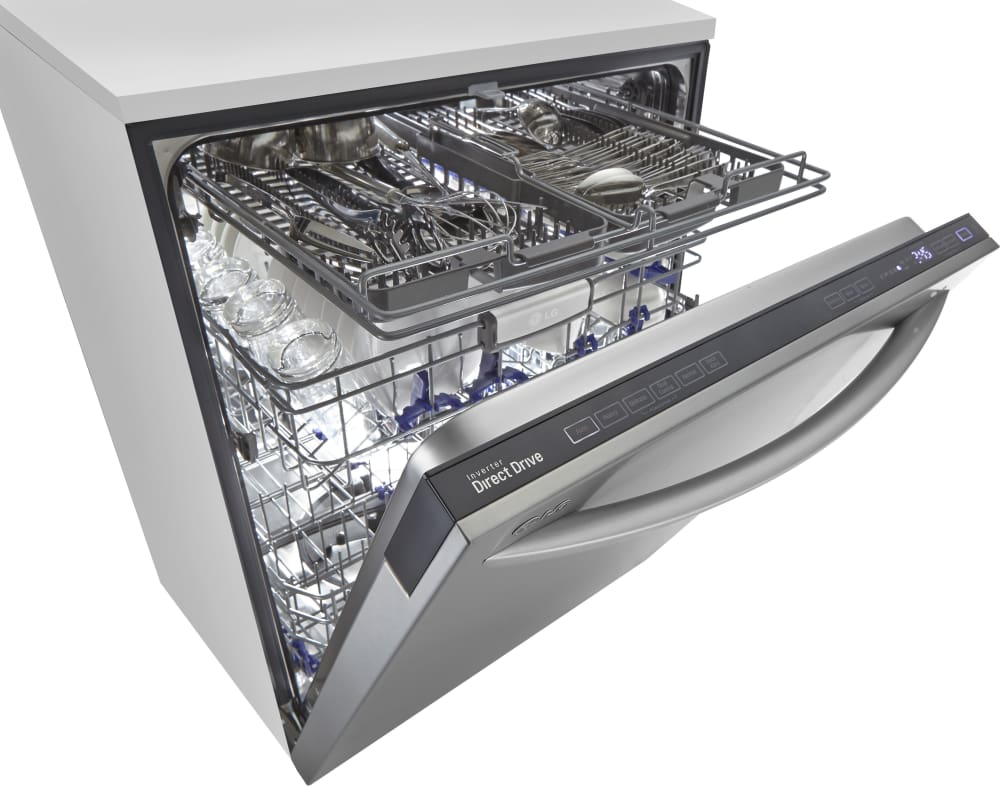 Mini Dishwashers Lg Ldf7774st Fully Integrated Dishwasher With Senseclean