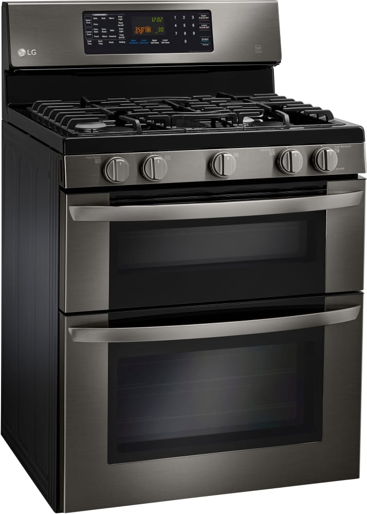 lg ldg3036bd 30 inch freestanding gas range with convection intuitouch controls easyclean 6. Black Bedroom Furniture Sets. Home Design Ideas