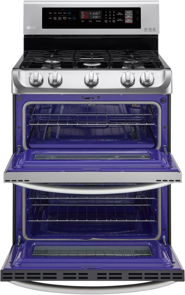 LG LDG4311ST 30 Inch Double Oven Gas Range With 5 Sealed Burners