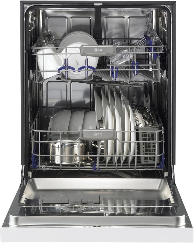 Lg Lds5040ww Full Console Dishwasher With 14 Place