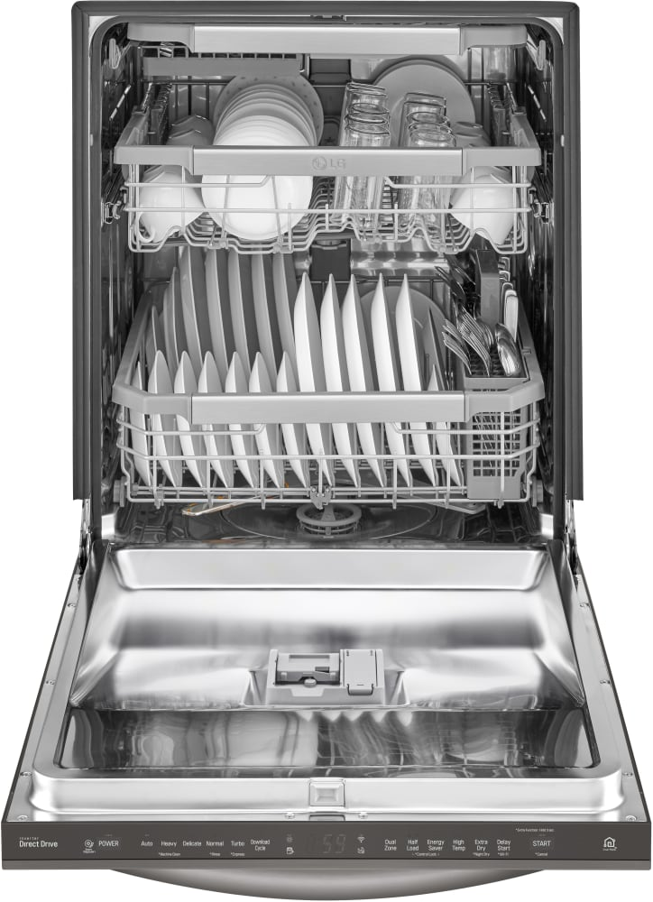 LG LDT7797BD Fully Integrated Dishwasher with QuadWash™, 3rd Rack on