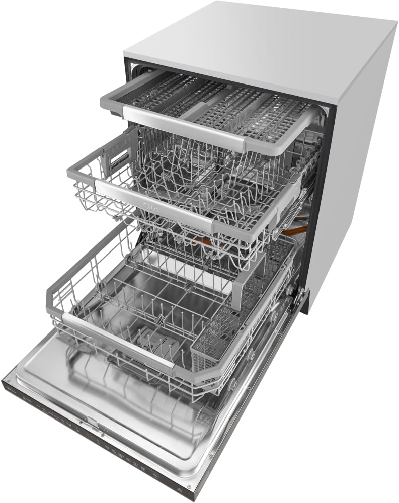 upper youtube rack lg drawer replace assembly dish style watch dishwasher