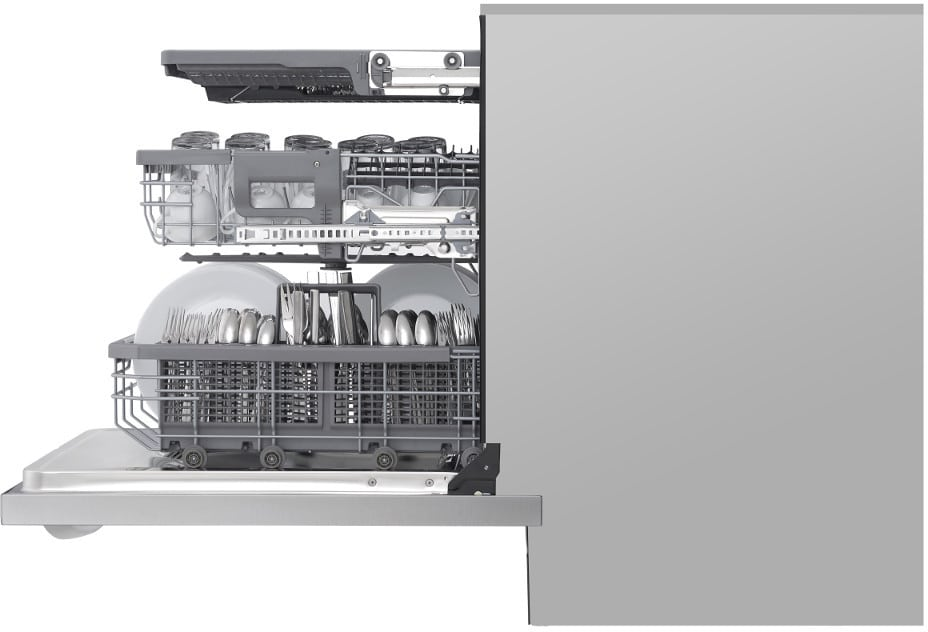 Lg Ldt7808st Fully Integrated Quadwash Dishwasher With