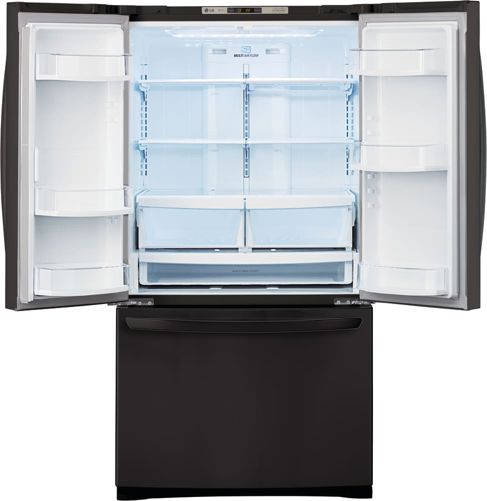 Lg lfc28768 36 inch french door refrigerator with glide n serve inch french door refrigerator lg lfc28768 interior view eventelaan Images