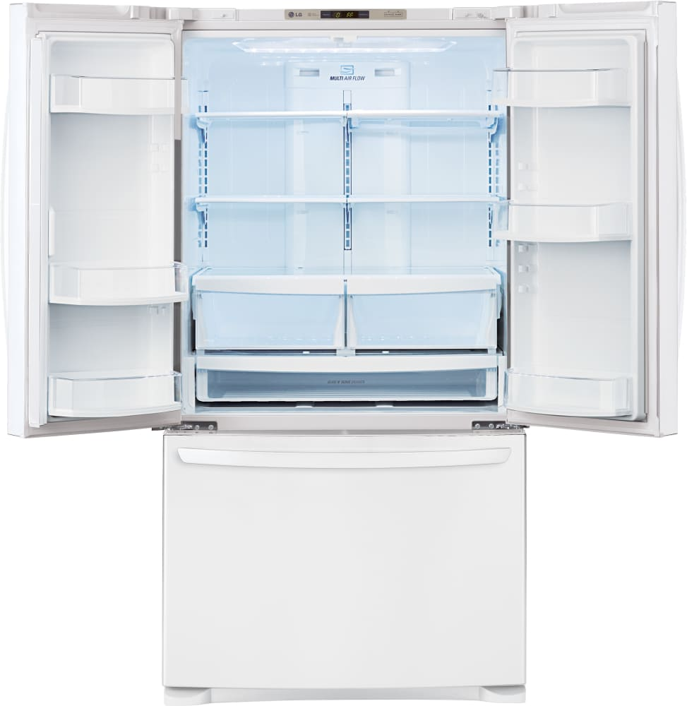 LG LFC28768SW 36 Inch French Door Refrigerator with Glide N' Serve ...
