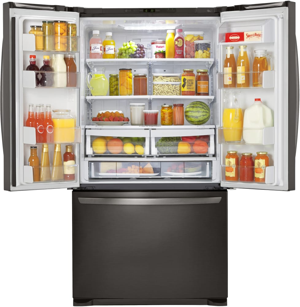 Lg Lfcs25426d 36 Inch French Door Refrigerator With
