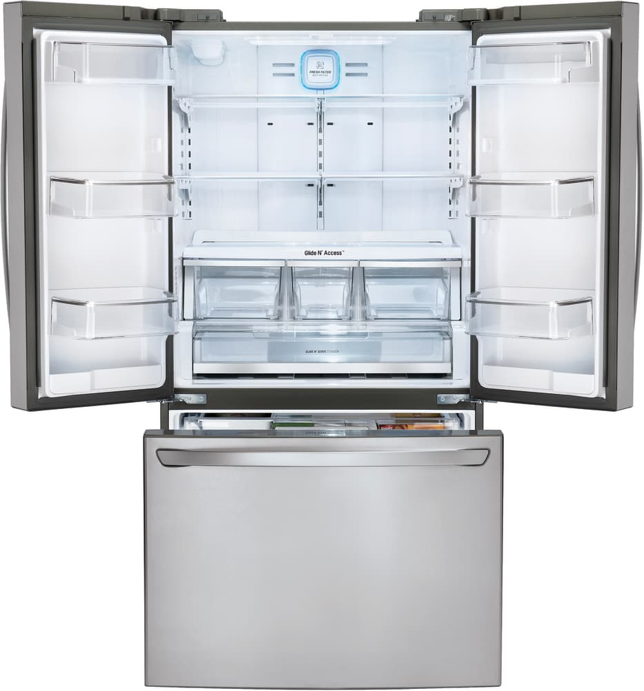 Lg Lfcs31626s 36 Inch French Door Refrigerator With Smart