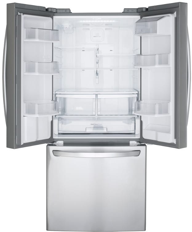 Lg Lfds22520s 30 Inch French Door Refrigerator With