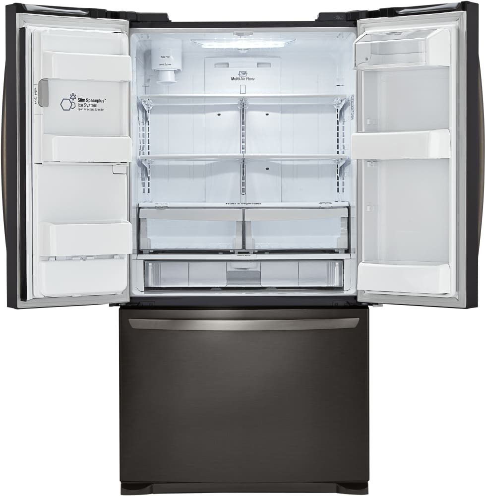 Lg Lfx25973d 36 Inch French Door Refrigerator With Slim
