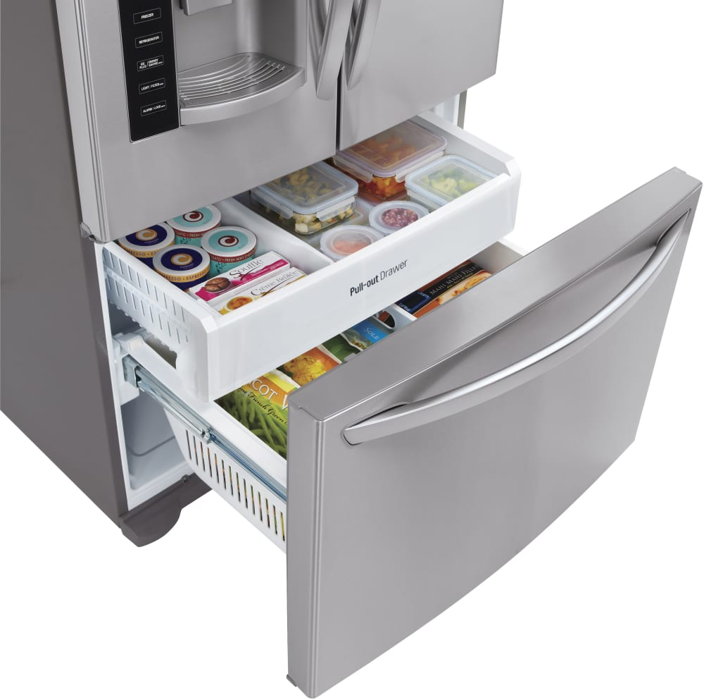 Lg Lfx25973st 36 Inch French Door Refrigerator With Linear