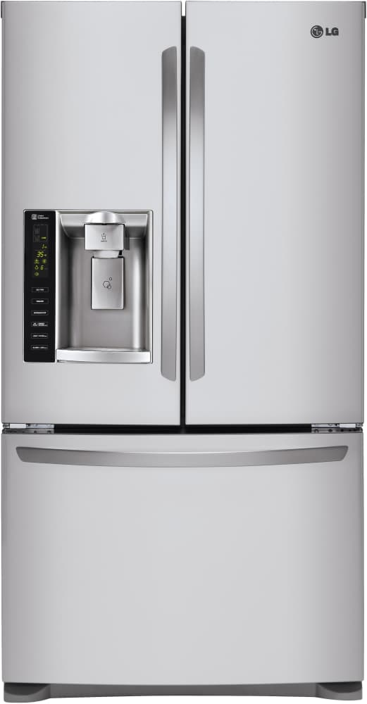 Lg Lfx25973st 36 Inch French Door Refrigerator From