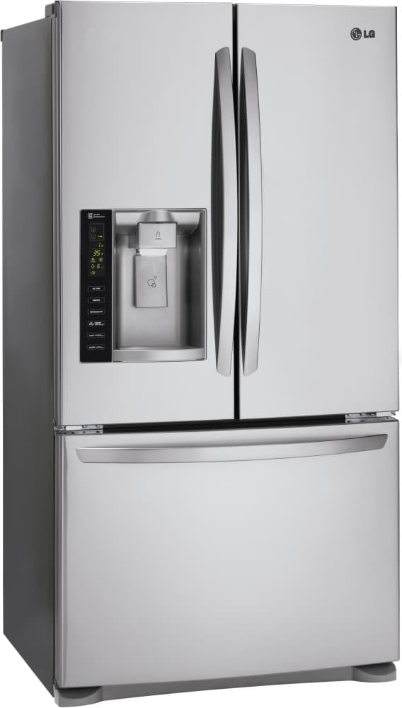 Lg Lfx25974st 36 Inch French Door Refrigerator With Slim Spaceplus