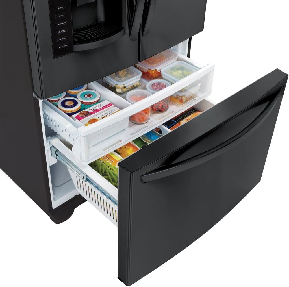 Lg lfx28968sb 36 inch french door refrigerator with slim for Ajmadison